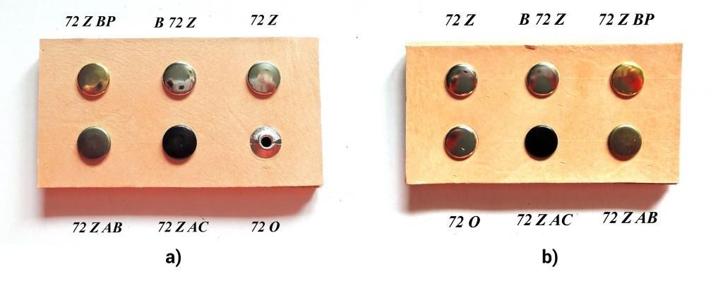 Two-piece saddlery rivets
