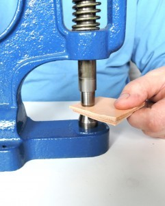 Riveting by a hand press